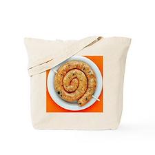 Coiled sausage - Tote Bag