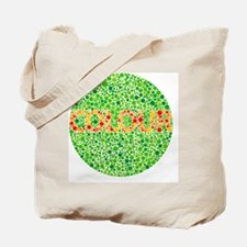 Colour blindness test - Tote Bag