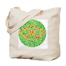 Colour blindness test - Tote Bag