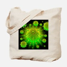 HIV particles - Tote Bag
