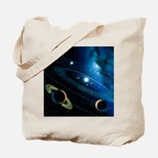 Artwork of the solar system - Tote Bag