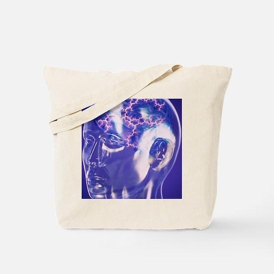 glass head - Tote Bag