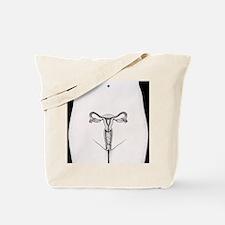 Female reproductive organs - Tote Bag