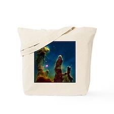 Gas pillars in the Eagle Nebula - Tote Bag