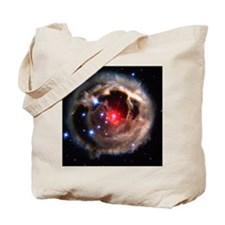 Light echoes from exploding star - Tote Bag
