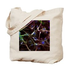 Nerve cell growth - Tote Bag