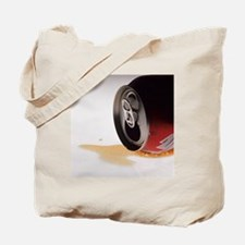 Spilt cola drink - Tote Bag