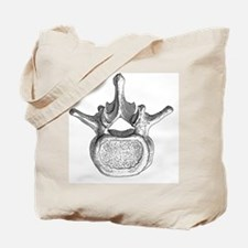 Spinal vertebra - Tote Bag
