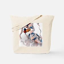 Insulin molecule - Tote Bag