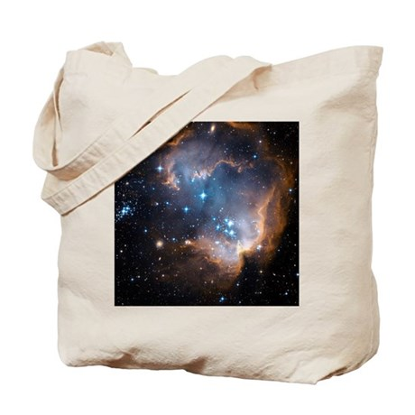 Starbirth region NGC 602 - Tote Bag