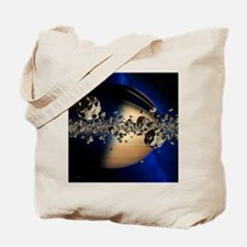 Saturn's ring system - Tote Bag
