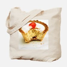 Tart with cherry - Tote Bag