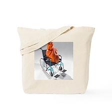 Unhealthy heart, conceptual artwork - Tote Bag