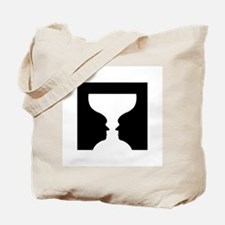 Goblet illusion - Tote Bag