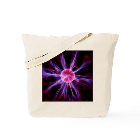 Plasma sphere - Tote Bag by sciencephotos