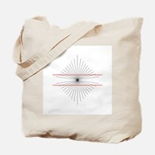 Hering illusion - Tote Bag