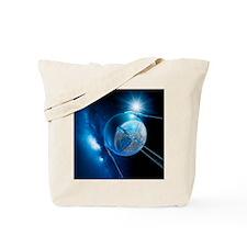 Sputnik 1 satellite - Tote Bag