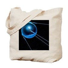 Sputnik 1 satellite - Tote Bag