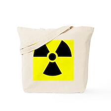 Radiation warning sign - Tote Bag