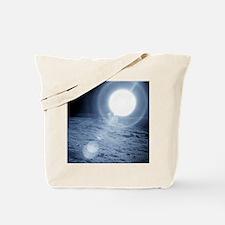 Sunrise over the Moon - Tote Bag