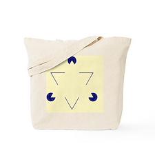 Kanizsa triangle - Tote Bag