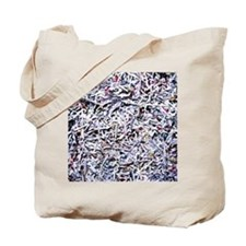 Shredded documents - Tote Bag