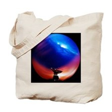 Spacecraft tracking antenna - Tote Bag