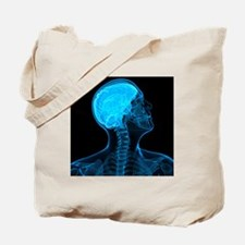 Head anatomy, artwork - Tote Bag