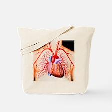 Human heart, artwork - Tote Bag