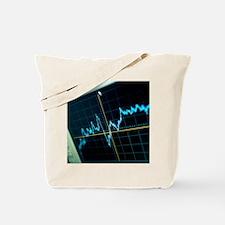 Oscilloscope trace - Tote Bag