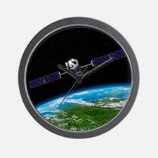 Orbiting Carbon Observatory, artwork - Wall Clock