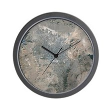 Las Vegas, satellite image, 2009 - Wall Clock