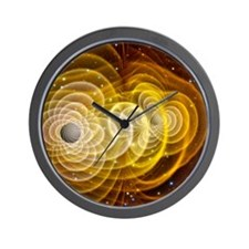 Black holes merging - Wall Clock