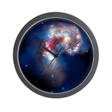 Antennae galaxies, composite image - Wall Clock