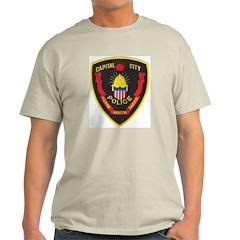 Pierre Police Ash Grey T-Shirt