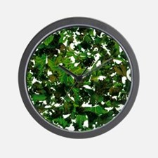 Curly kale - Wall Clock