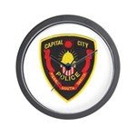 Pierre Police Wall Clock