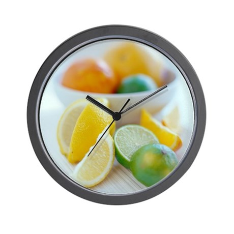 Citrus fruits - Wall Clock