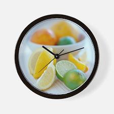 Citrus fruits - Wall Clock