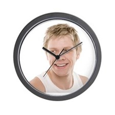 Healthy man - Wall Clock