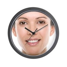 Healthy woman - Wall Clock