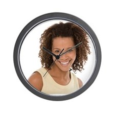 Healthy woman - Wall Clock