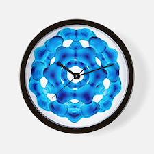 Buckyball, C60 Buckminsterfullerene - Wall Clock