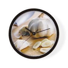 Garlic - Wall Clock