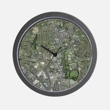 Southampton,UK, aerial image - Wall Clock