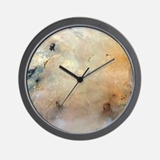 Tabun Khara Obo crater, Mongolia - Wall Clock