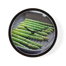 Asparagus spears - Wall Clock