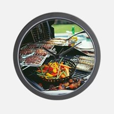 Barbeque - Wall Clock