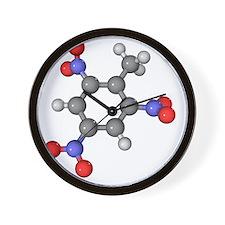 TNT molecule - Wall Clock