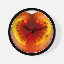 Tomato slice - Wall Clock